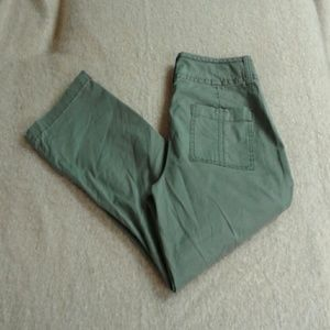 Army Green Capri pants